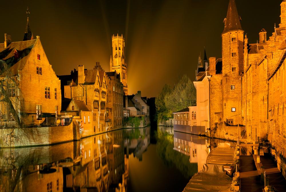 Belgium Bruges Anneka shutterstock