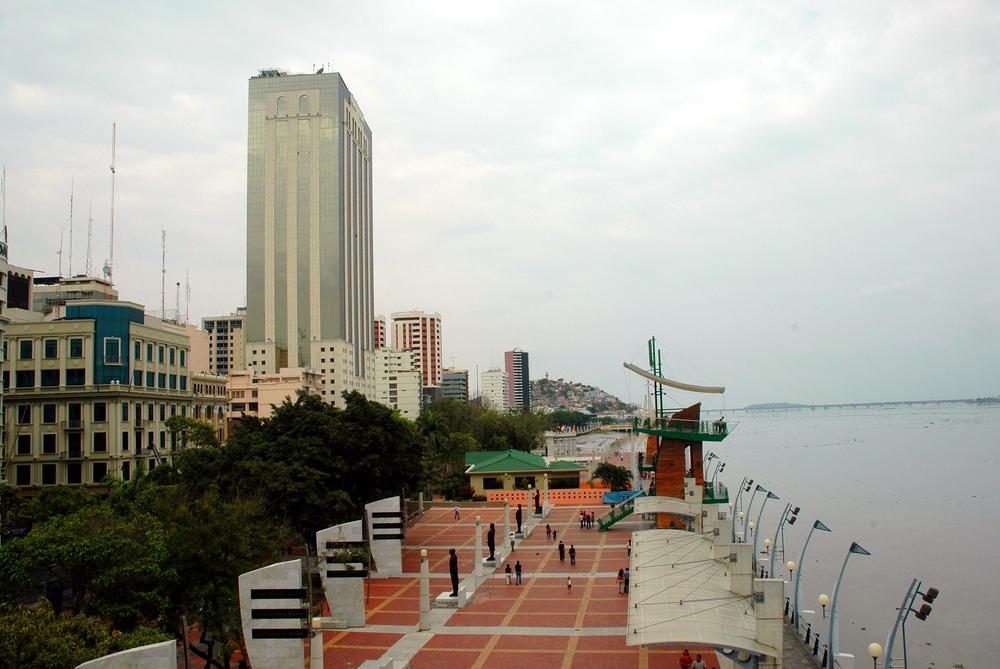 Malecon 2000, Guayaquil, Ecuador