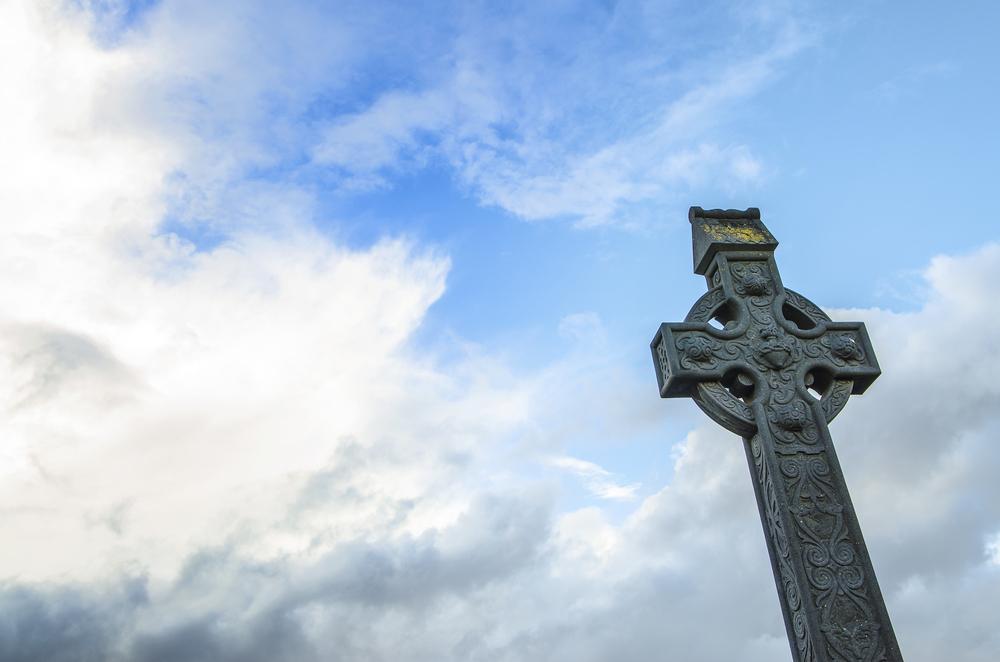 Ireland cross against sky YingHui Liu shutterstock_226729477