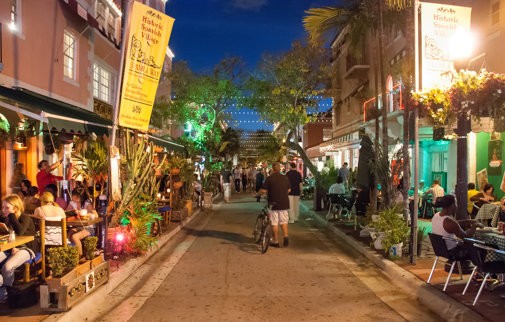 USA Florida Miami Beach, Florida - Espanola Way Cristina Muraca shutterstock_239569765