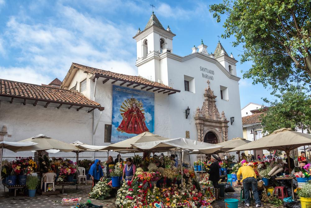 Cuenca, Ecuador flower markets - Jess Kraft shutterstock_245776525