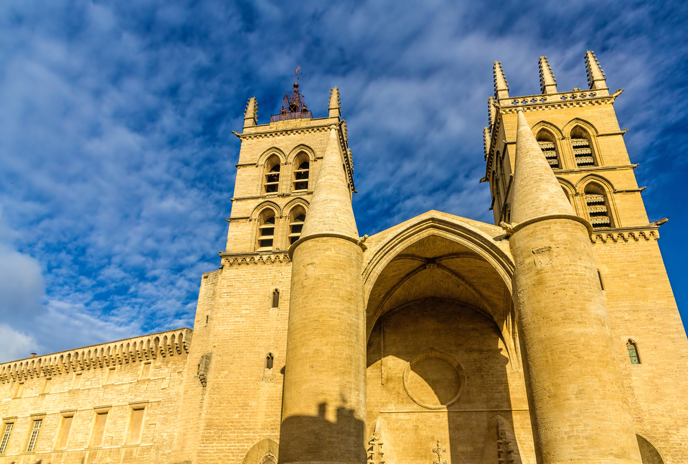 France Montpellier St Pierre cathedral - Leonid Andronov shutterstock_261581588