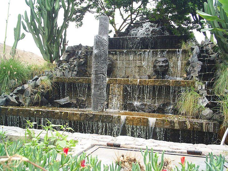 Peru Lima Parque de las Leyendas fountain Wikipedia Axxgreazz