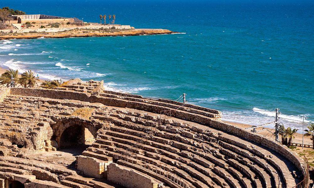 Spain Tarragona amphitheater A.S.Floro shutterstock_143505460