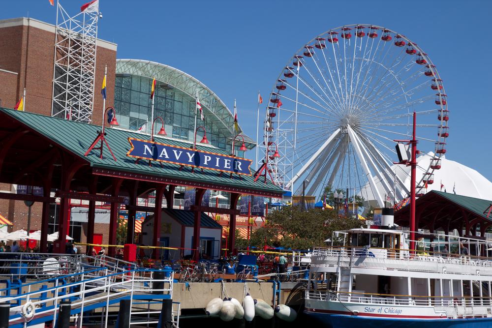 Navy Pier, Chicago, Illinois, USA - Rob Wilson shutterstock_84611896