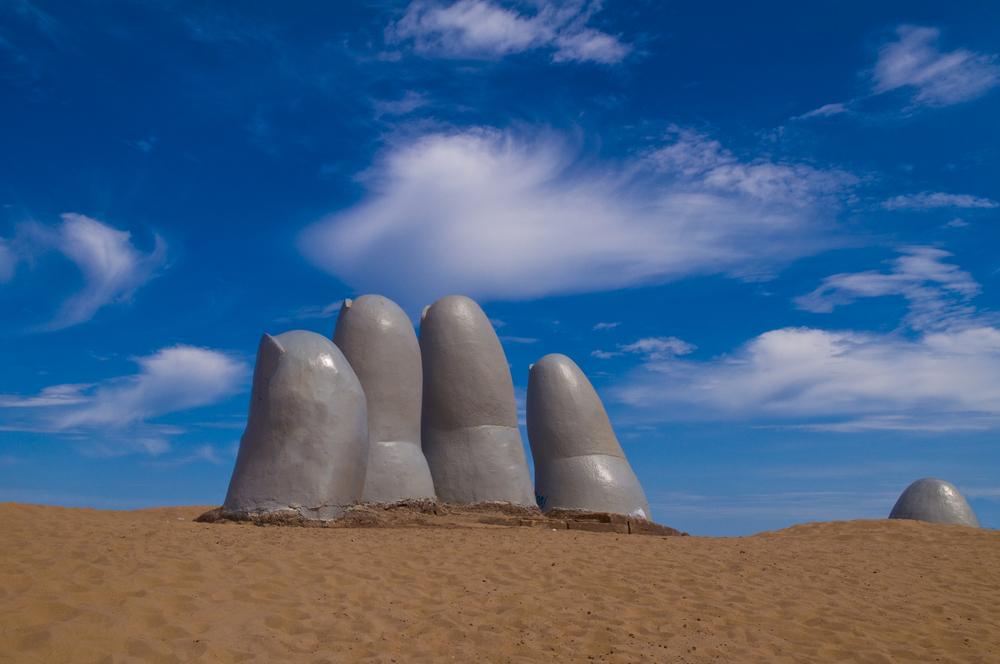 Uruguay Punta del Este fingers dedos Kobby Dagan shutterstock_25480402