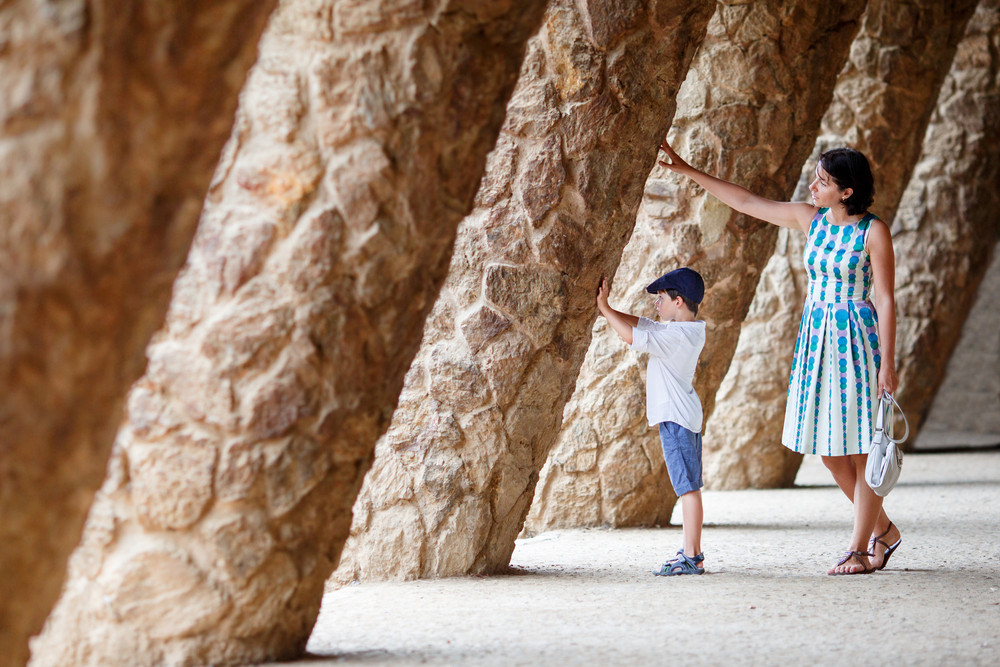family travel Europe - Barcelona Gaudi Levranii shutterstock_173492102