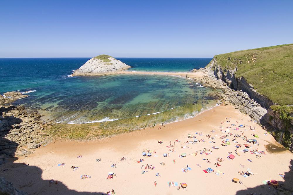 Covachos beach, Cantabria, Spain - Natursports shutterstock_151694513
