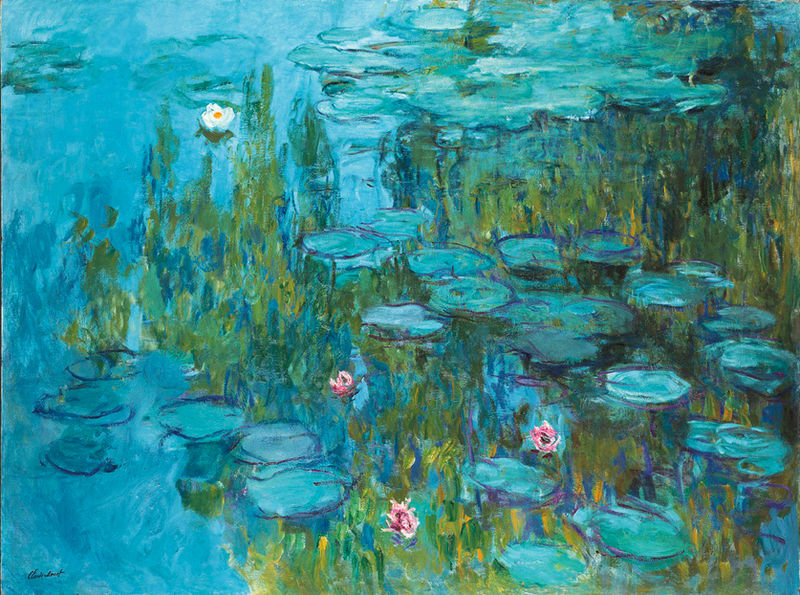 Claude Monet Water Lilies - Giverny, Normandy, France - Neue Pinakothek