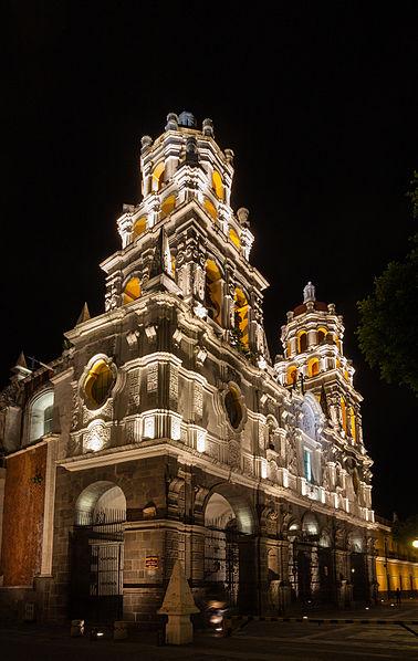 Mexico Puebla Templo de la Compañía Diego Delso Wikipedia