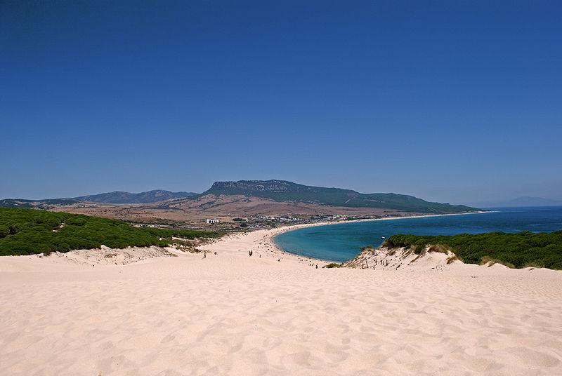 Spain Cadiz Tarifa Playa Bolonia - Anual Wikipedia
