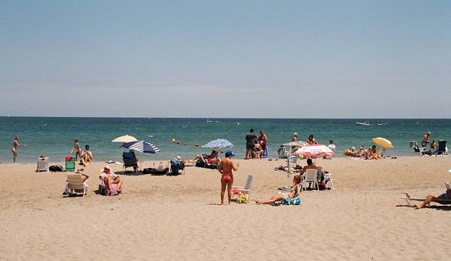 Spain Alicante Denia Cala de Aiguadolç nude beach VuelaviajesDOTcom