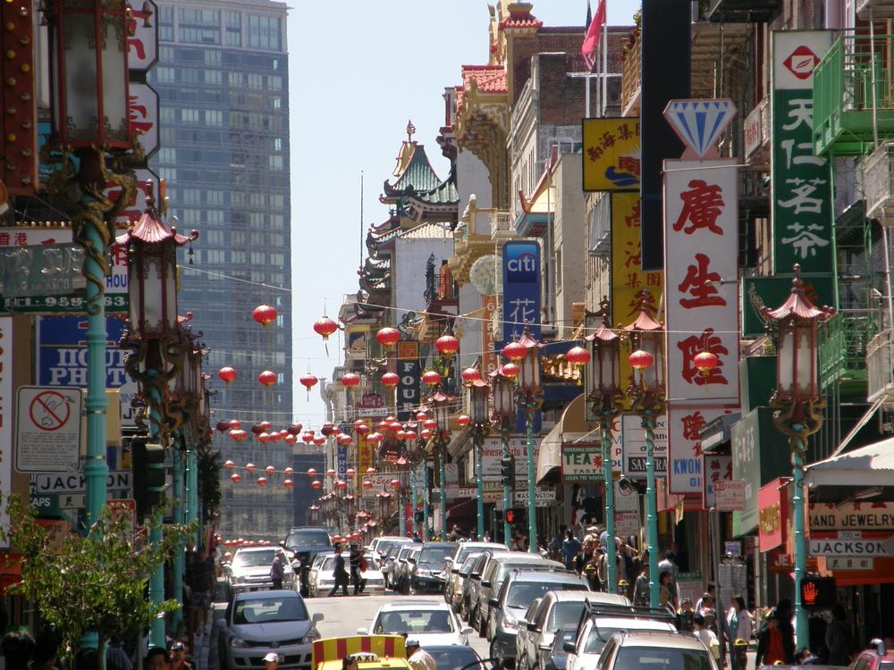 Chinatown San Francisco, California - Ritu Manoj Jethani shutterstock_161756462