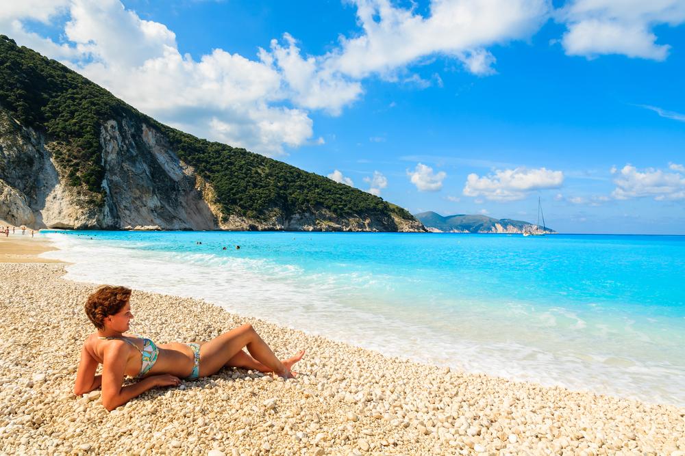 Europe Greece Kefaolia Myrtos beach Pawel Kazmierczak shutterstock_221312011