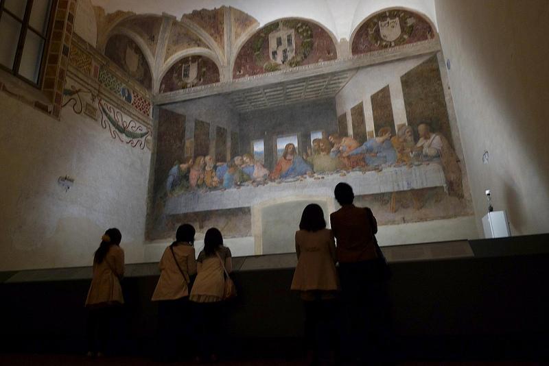 Italy Milan Brera Basilica Santa Maria dell Grazier Leonardo da Vinci Last Supper -  Darren and Brad Flickr