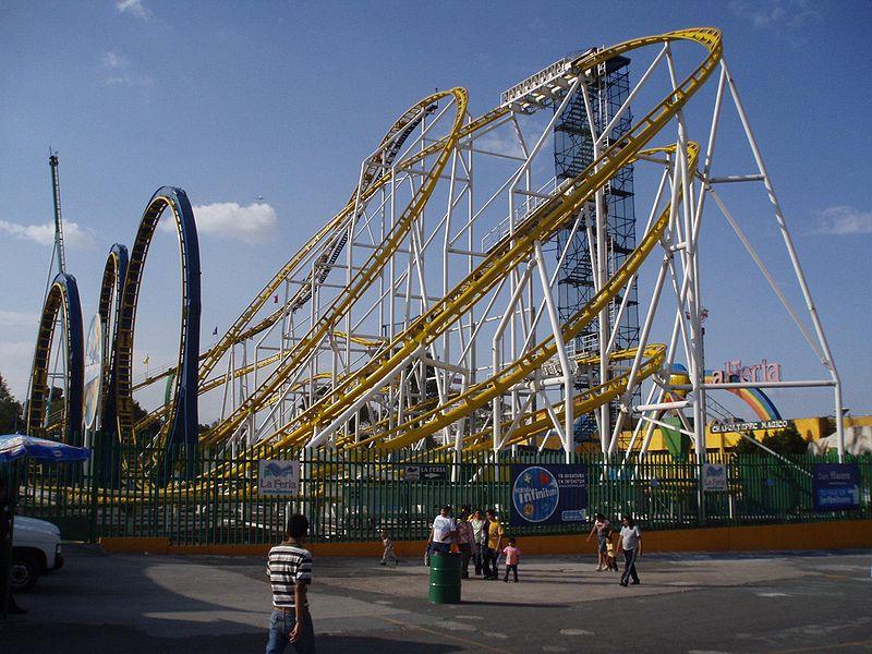 Latin America Mexico City Feria Chapultepec Montaña Infinitum - Dag Lindgren Wikipedia