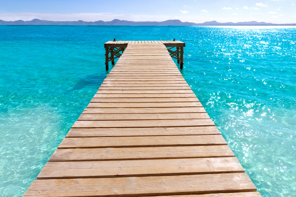 Spain Balearic Islands Majorca beaches - holbox shutterstock_266030813