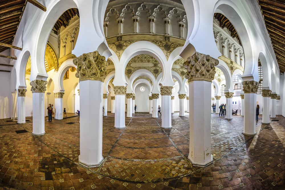 Spain Jewish Toledo Santa Maria la Blanca shutterstock_234794821