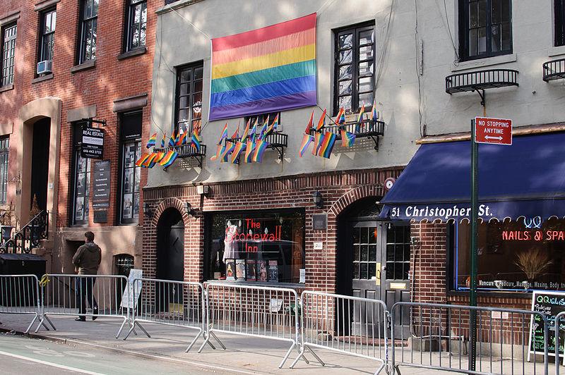 USA-Canada gay LGBT travel: Christopher Street, Greenwich Village, New York City, Stonewall Inn - InSapphoWeTrust Wikipedia