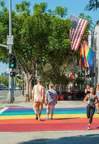 West Hollywood gay travel