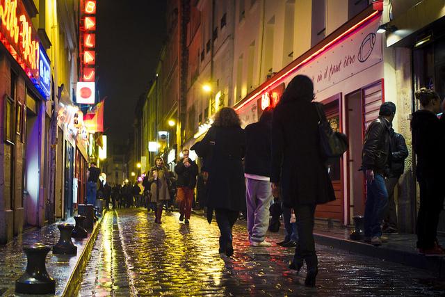 France Paris Bastille Rue Du Lappe dirac3000 Flickr