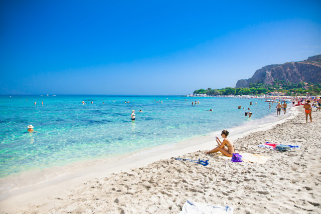 Italy Sicily Mondello beach Aleksandar Todorovic shutterstock_266630336