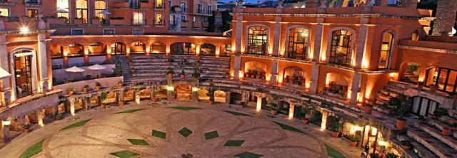 Latin America hotels Mexico Zacatecas Quinta Real hotel
