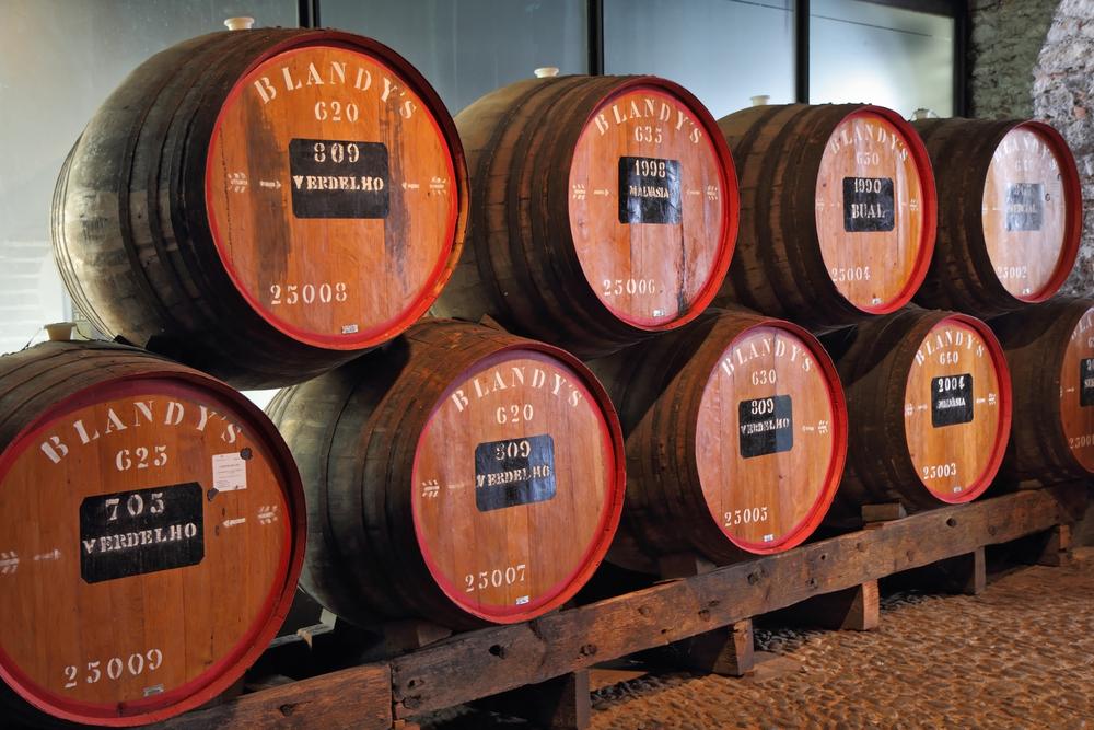 Portugal Madeira Funchal Blandys wine kavram shutterstock_218575258