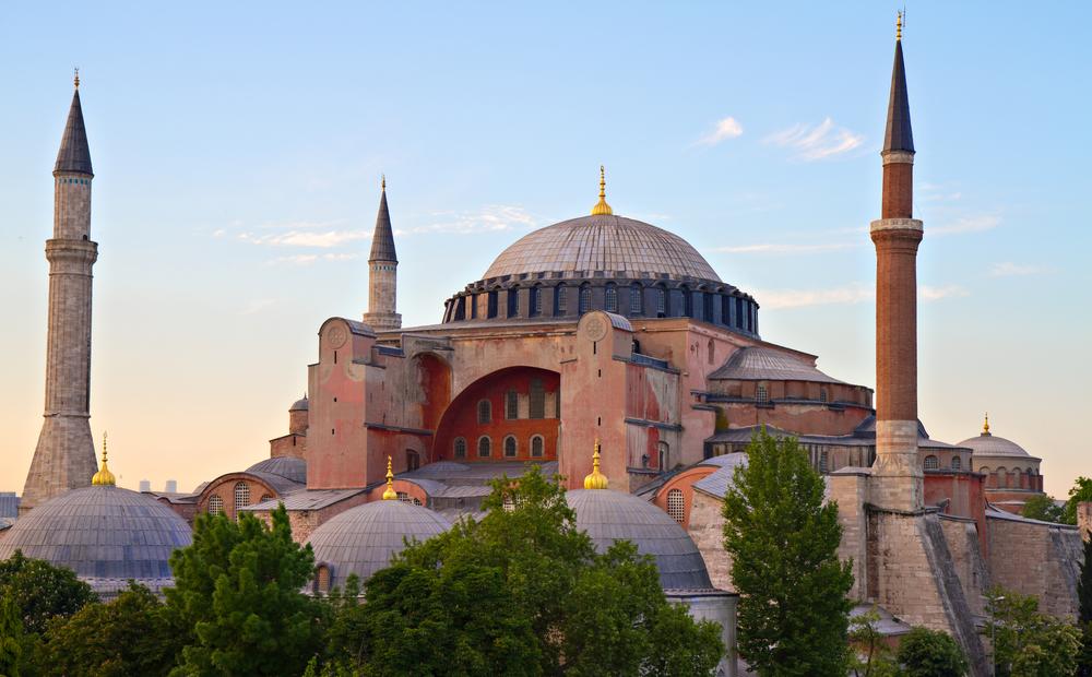 Turkey Istanbul Haghia Sophia mosque Circumnavigation shutterstock_89193643