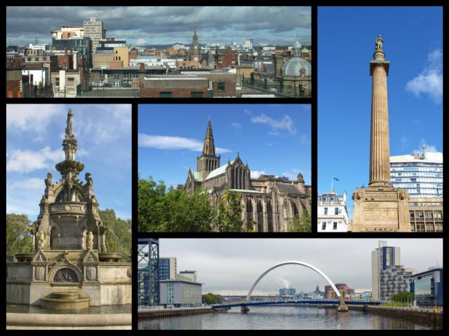 L2F Jul 15 pic UK Scotland Glasgow collage Claudio Divizia shutterstock_278390828