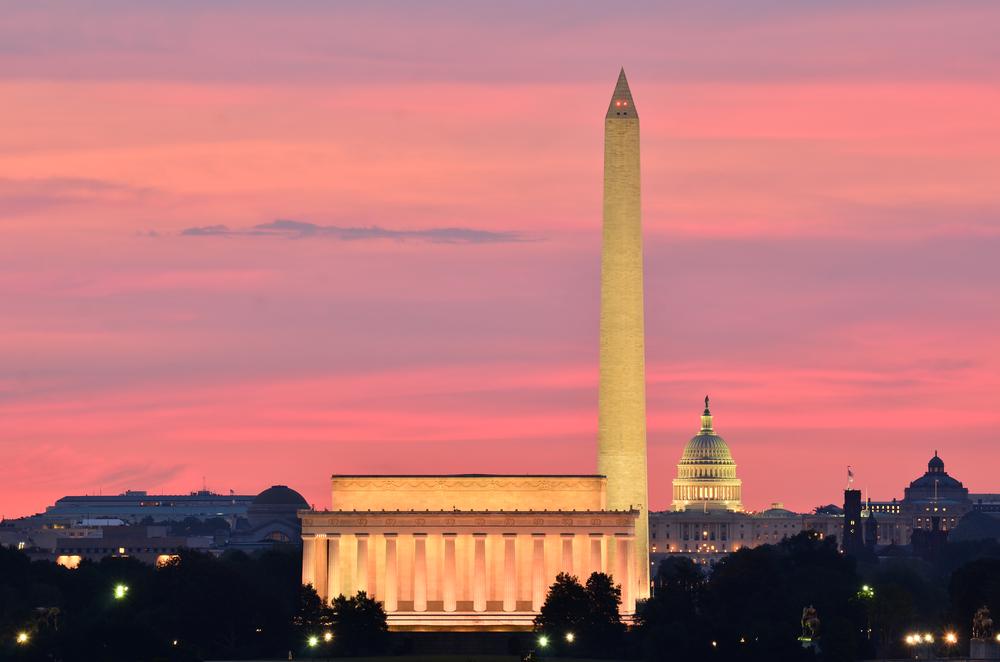 USA Washington DC Capitol Washington Monuments Lincoln Memorial Orhan Cam shutterstock_110639180