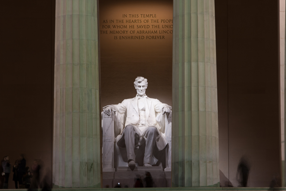 USA Washington DC Lincoln Memorial Kevin Grant shutterstock_254428888