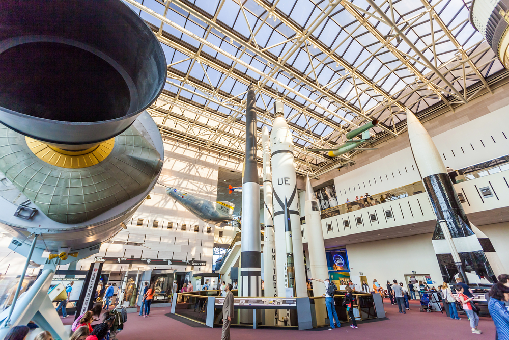 USA Washington DC Smithsonian National Air and Space Museum f11photo shutterstock_194285615