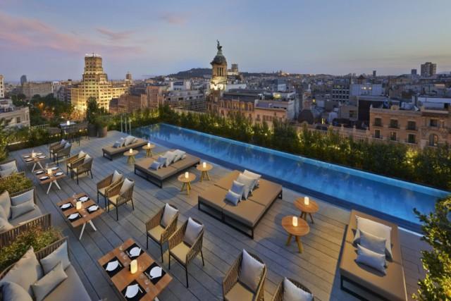 pools Spain Catalonia Barcelona Mandarin Oriental