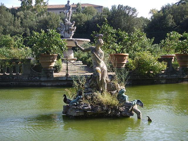 Italy Tuscany Florence Boboli Gardens Isolotto Andromeda sailko Wikipedia Flickr