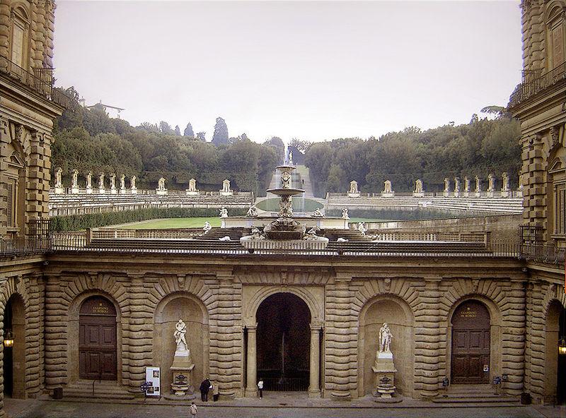 Italy Tuscany Florence Boboli Gardens amphitheatre Ricardo André Frantz Wikipedia Flickr
