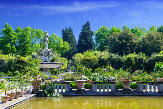 Italy Tuscany Florence Boboli Gardens gillmar shutterstock_218820328