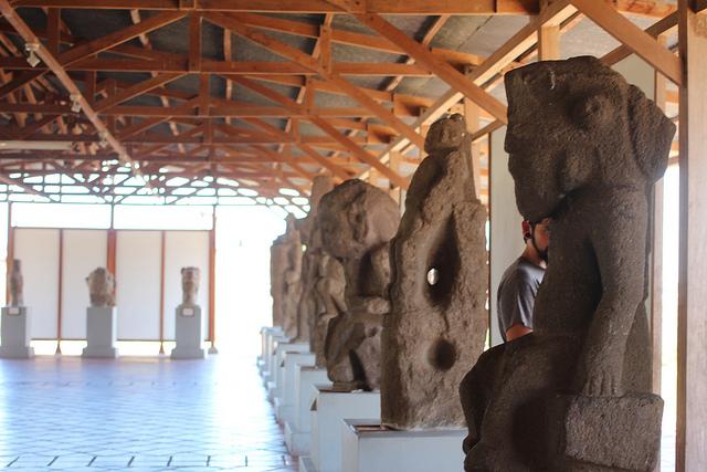 Nicaragua Granada Santo Domingo Convent statues - happykatie Flickr