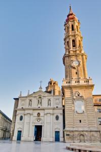 Spain Aragon Zaragoza La Seo cathedral - Anibal Trejo shutterstock_96255554