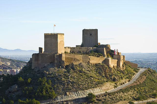 Spain Murcia Lorca Castle - Jose Lorca Wikipedia
