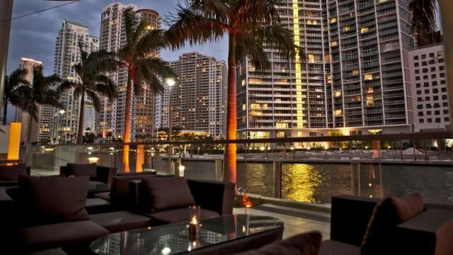 USA Florida Miami restaurants beautiful people Zuma Epoch Hotel