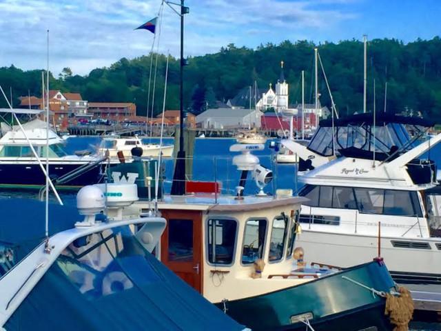 USA Maine New England Booth Bay Harbor - José Balido
