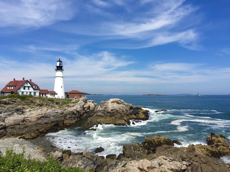 USA Maine New England Portland Head Light lighthouse - David Paul Appell