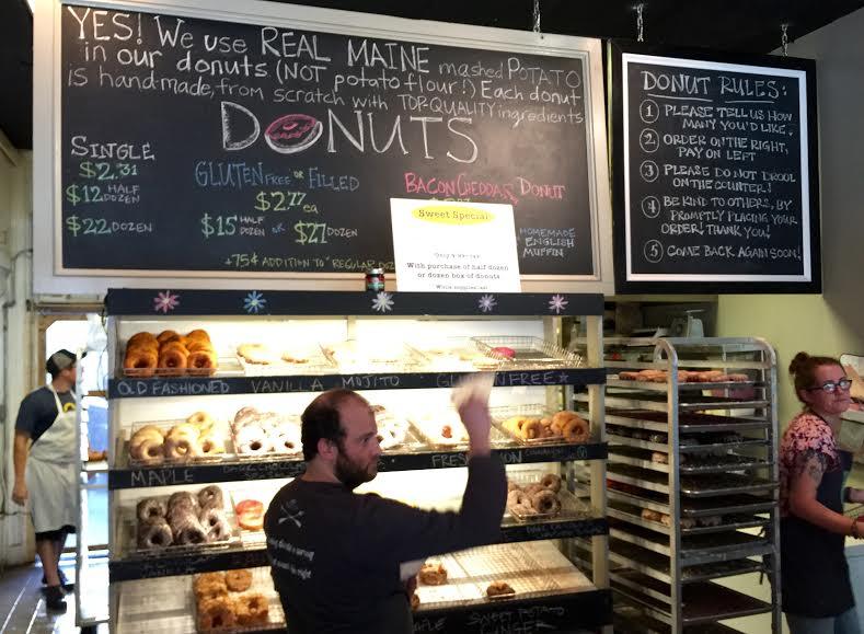 USA Maine New England Portland Old Port Holy Donut - David Paul Appell
