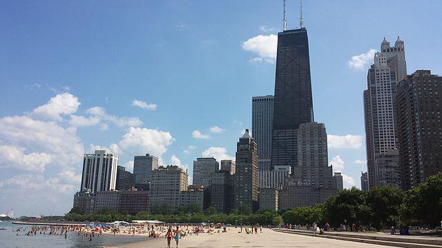 USA beaches Illinois Chicago Steven Kevil Wikipedia Flickr