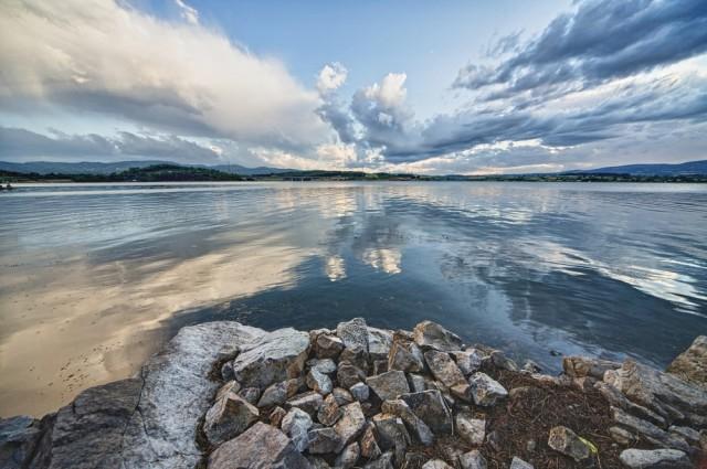 Hungary Lake Balaton clouds ZoranKrstic shutterstock_103305605