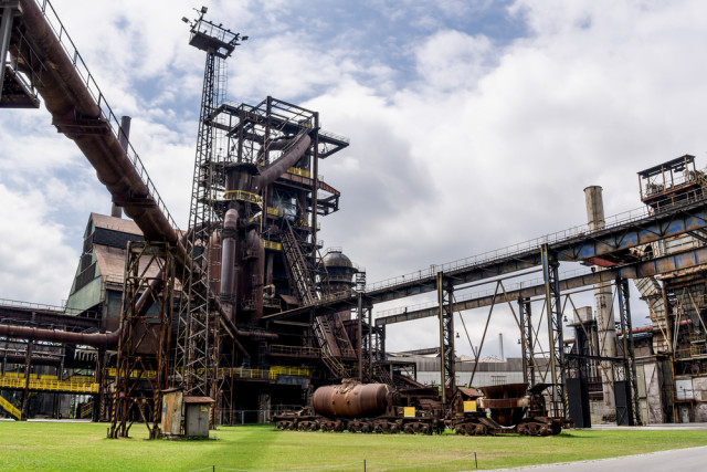 Czech Republic Moravia Ostrava mine Mino Surkala shutterstock_268680584