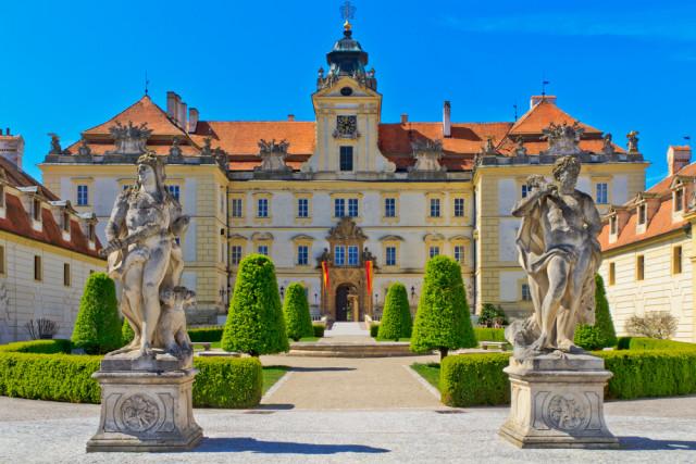 Czech Republic Moravia Valtice chateau Bertl123 shutterstock_104502833
