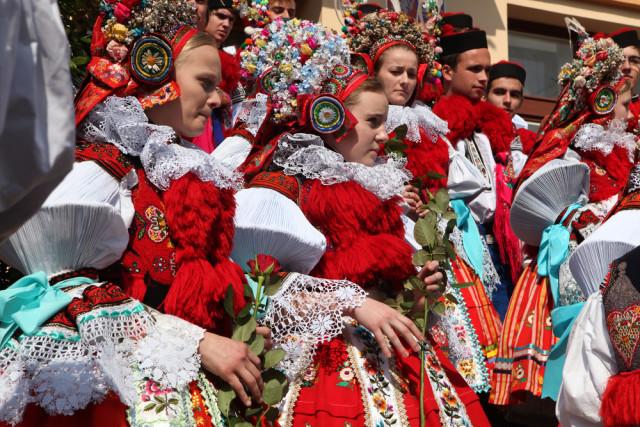 Czech Republic Moravia folkloric costume Vladimir Wrangel shutterstock_250430740