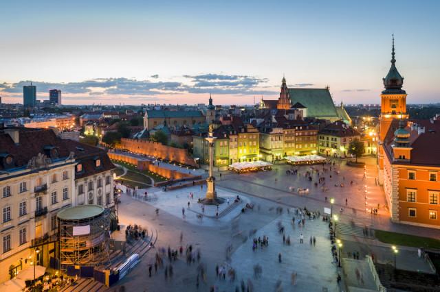 Poland Warsaw Old Town Jacek_Kadaj shutterstock_103589021